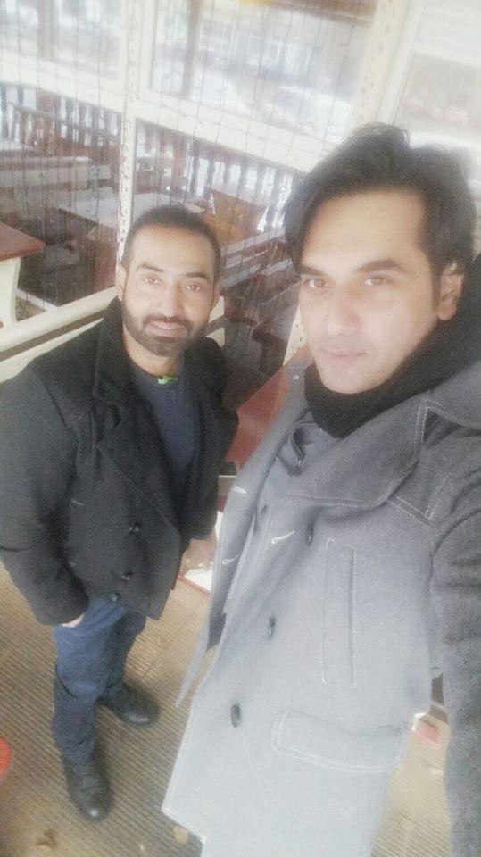 Humayun Saeed and Nadeem Baig in Europe.