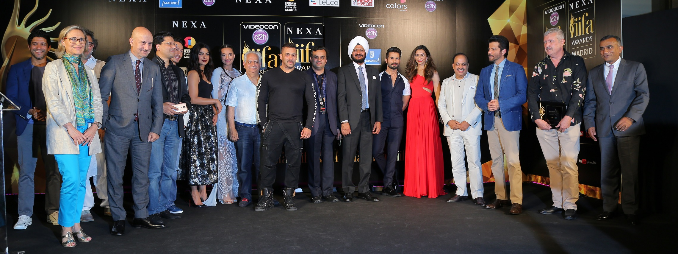 Noted Dignitaries and Friends of IIFA At The IIFA 2016 Opening Press Con...